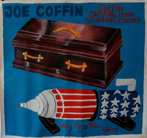 Joe Coffin, Coffin Carving Door Stuffing Chairs, Any Type You Want