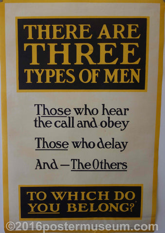 There are three types of men