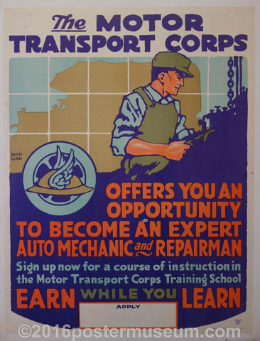 The Motor Transport Corps