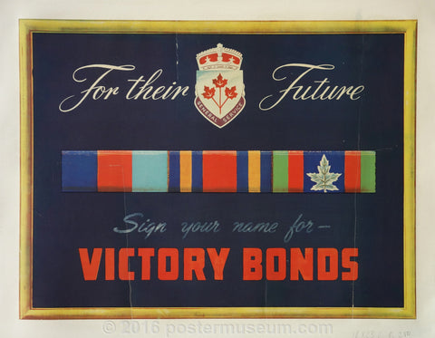 Sign Your Name For Victory Bonds