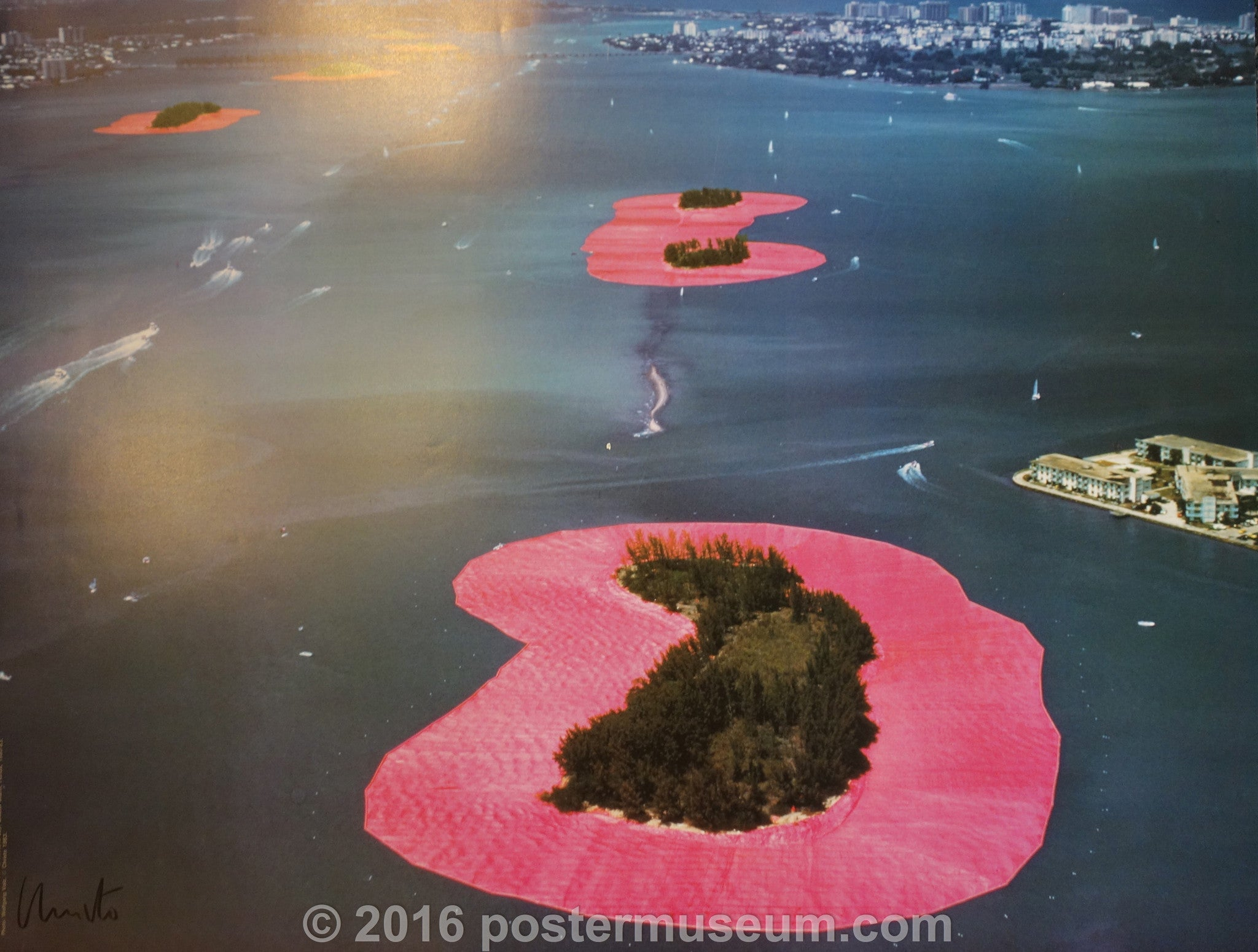 Pink Surrounded Islands: Christo