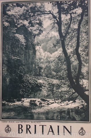 Britain – Chee Dale near BUXTON