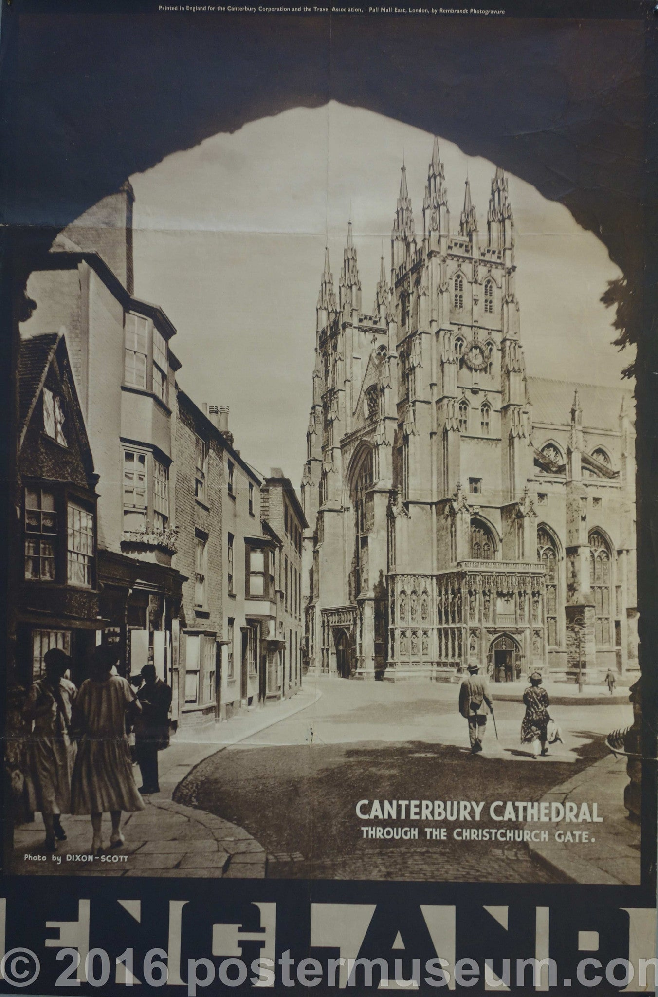 ENGLAND- Canterbury Cathedral
