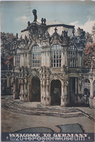 "Welcome To Germany (Baroque Architecture of the Dresden ""Zwinger"""