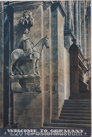 "Welcome To Germany (The ""Horseman"" of Bamberg Cathedral)"
