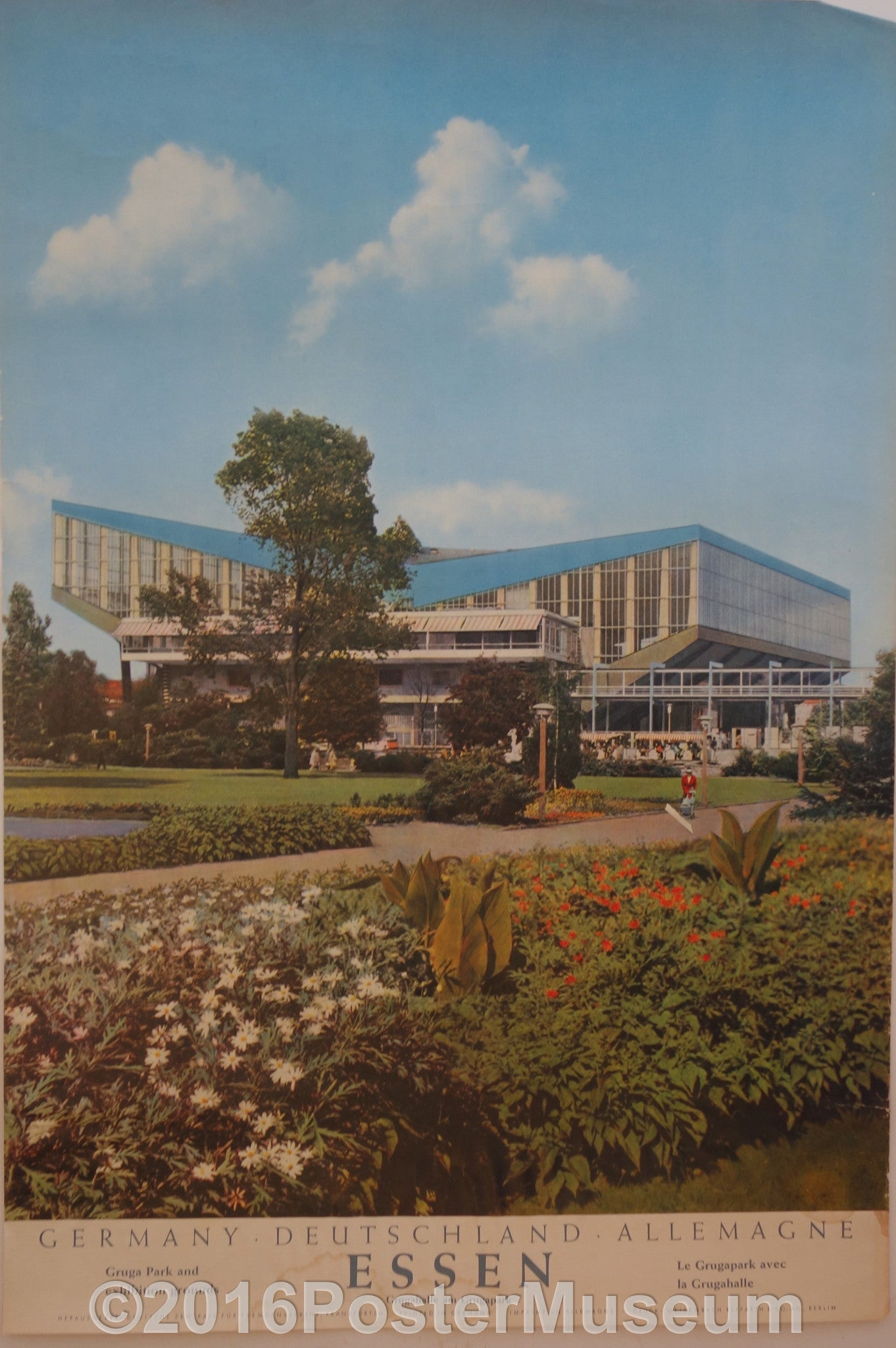 Essen Gruga Park and exhibition hall