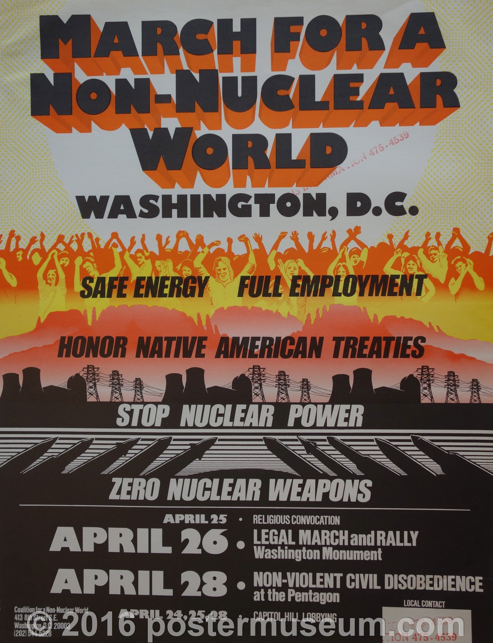 March for a non-nuclear world