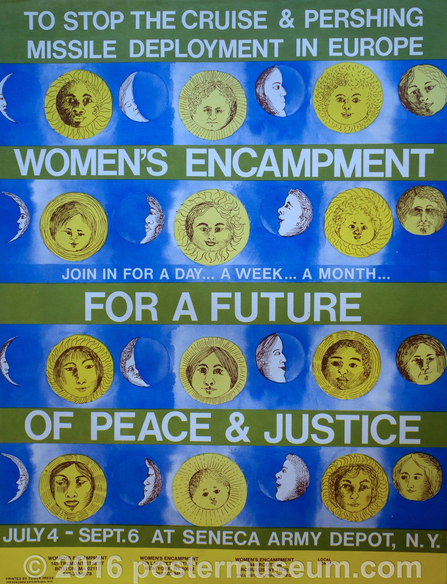 Women's Encampment for a future of peace & justice