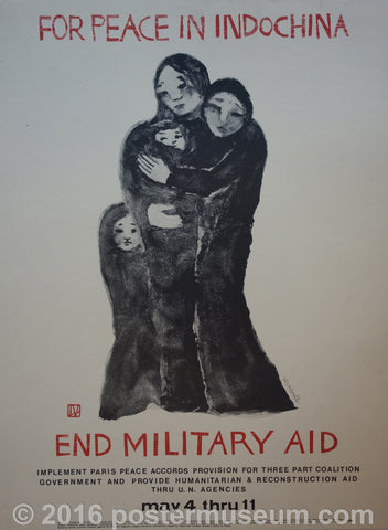 For Peace In Indochina End Military Aid