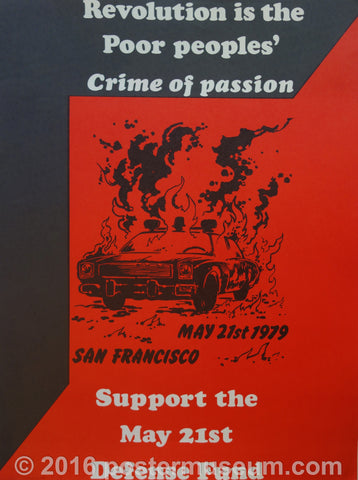 Revolution is the Poor Peoples' Crime of Passion
