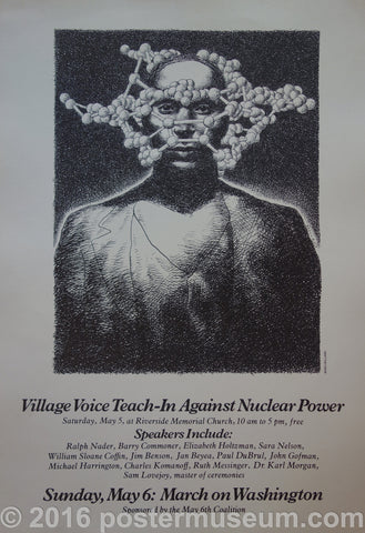 Village Voice Teach-In Against Nuclear Power
