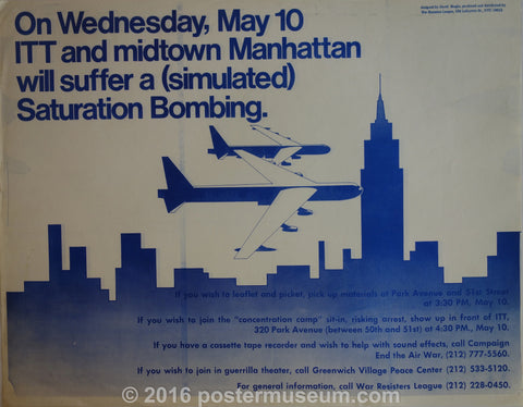 Manhattan Will Suffer a (Stimulated) Saturation Bombing