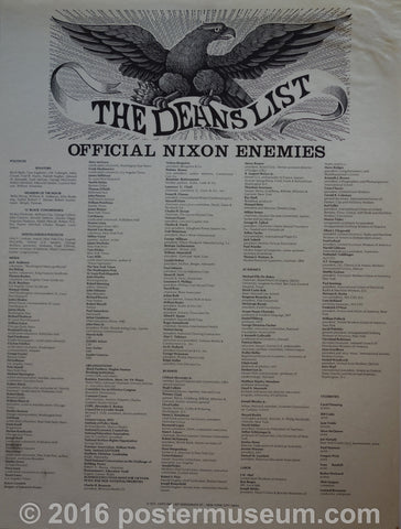 The Deans List (Official Nixon Enemies)