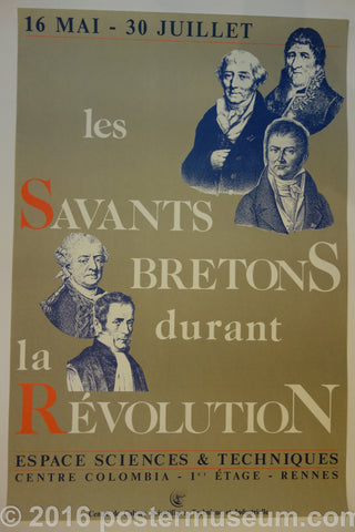 Les Savants Bretons Durant La Revolution