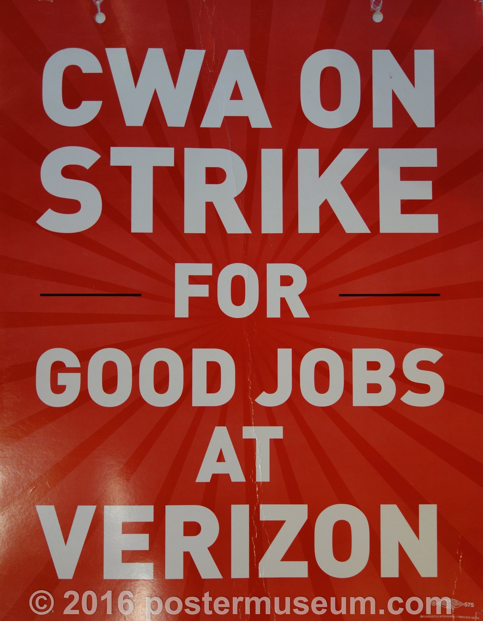 CWA ON STRIKE