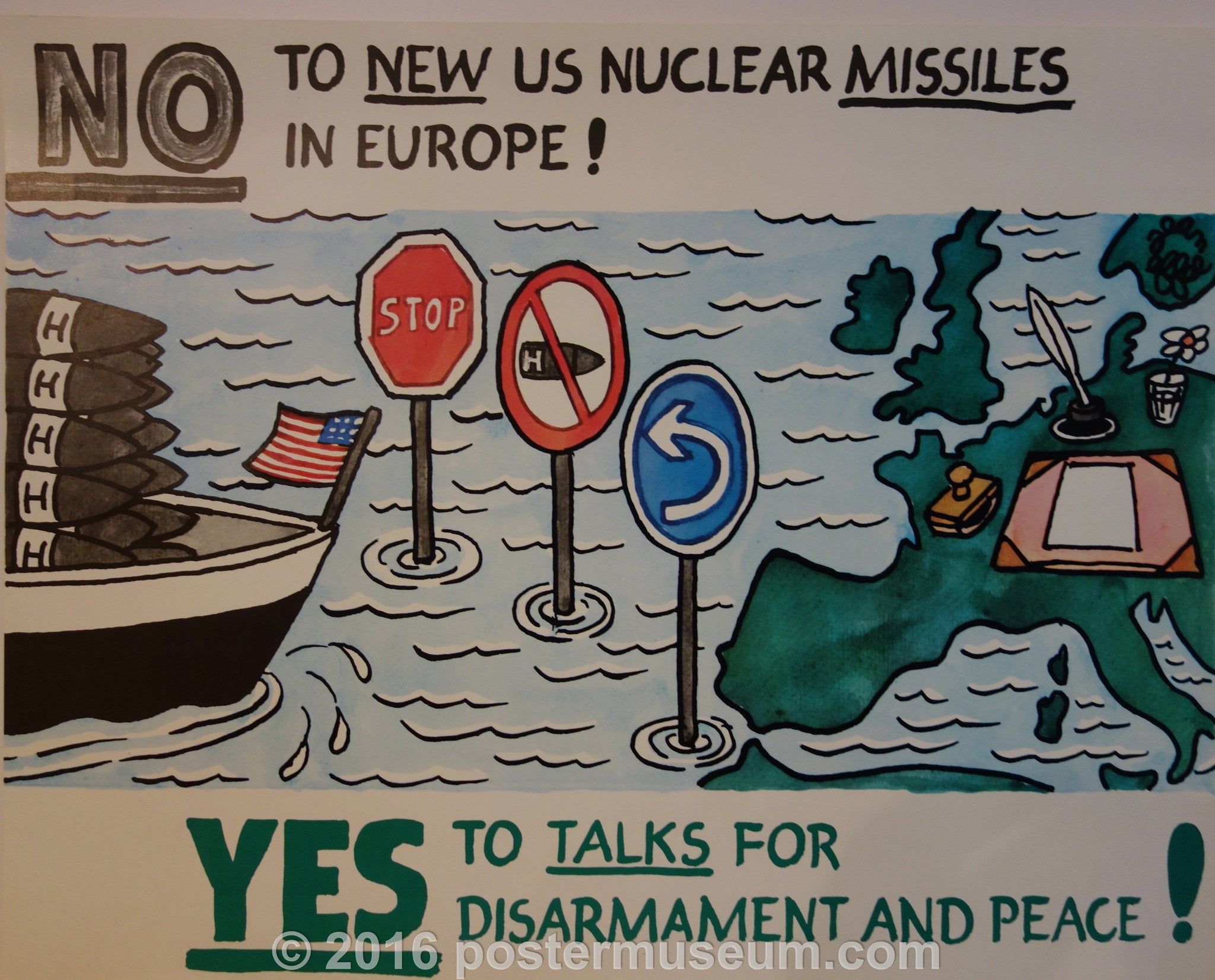 No to Nuclear Missles In Europe!