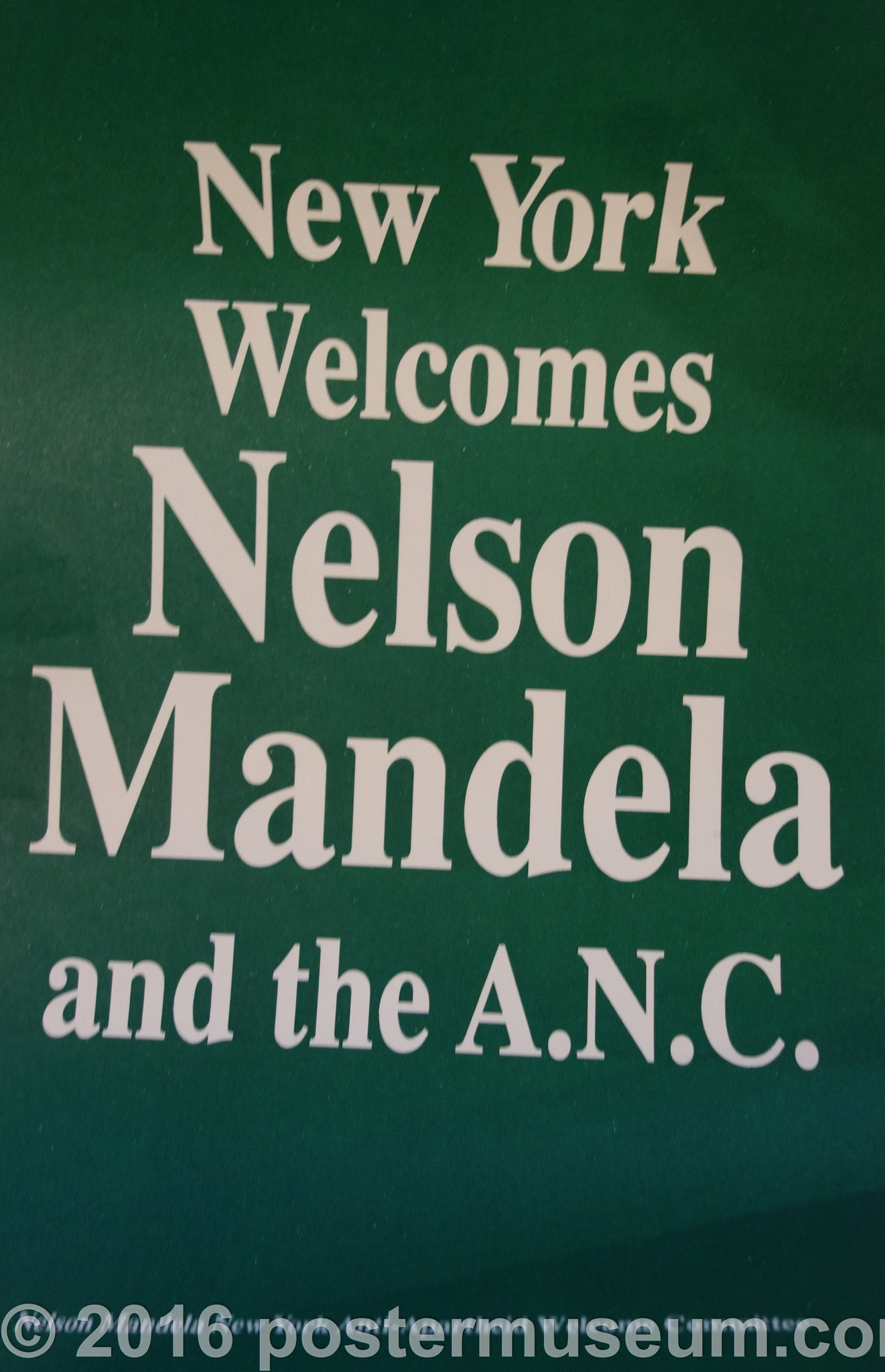 New York Welcomes Nelson Mandela And The A.N.C.