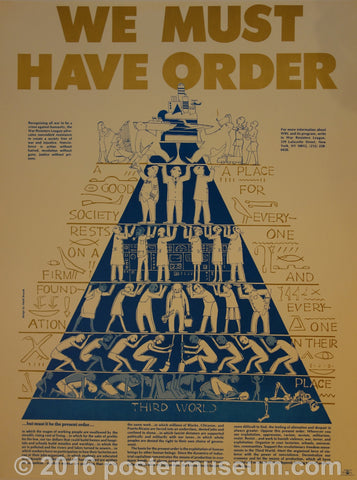 We Must Have Order