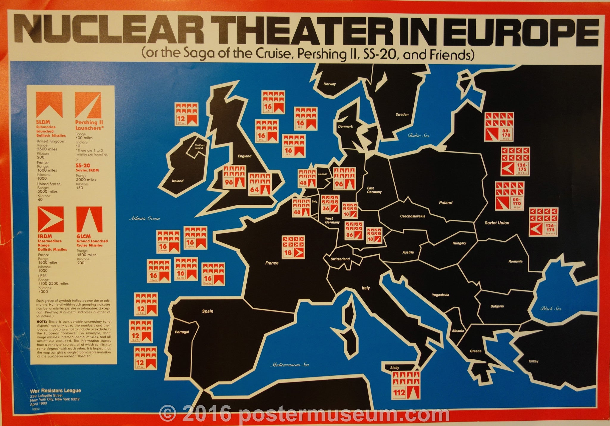 Nuclear Theater In Europe