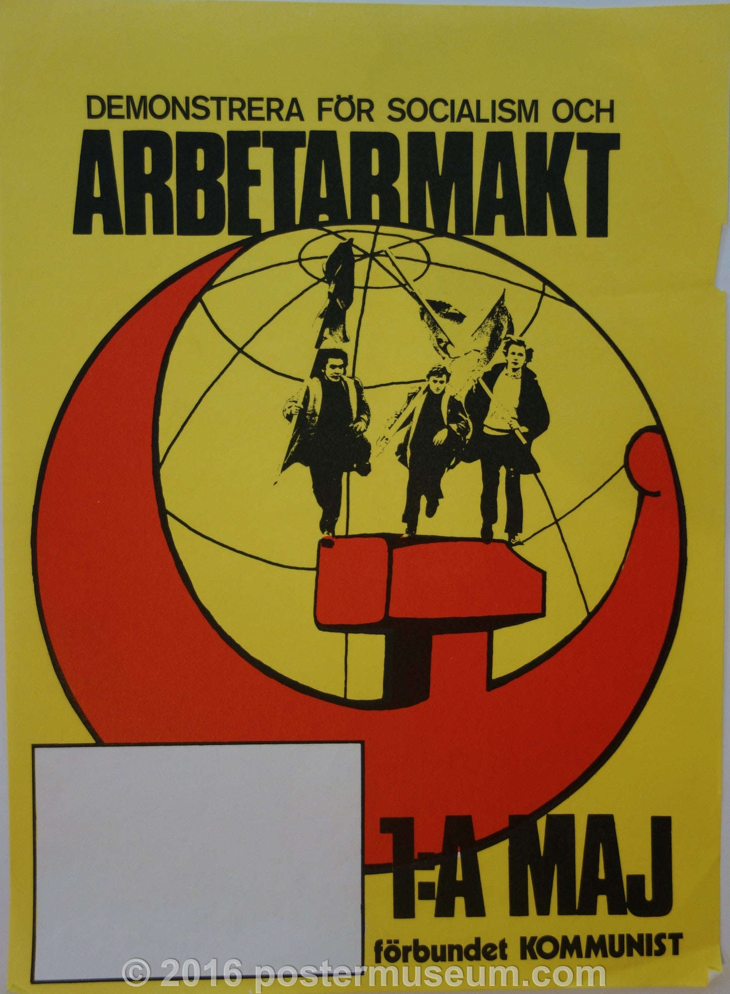 Demonstrera for socialism och Arbetarmakt