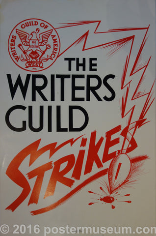 The Writers Guild Strikes!