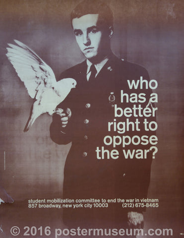 Who Has A Better Right To Oppose The War?