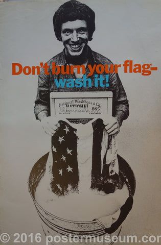 Don't Burn Your Flag- Wash It