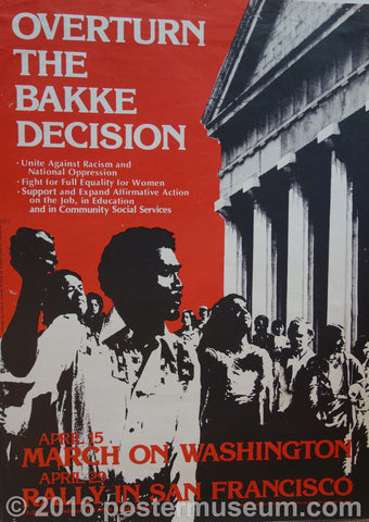 Overturn The Bakke Decision