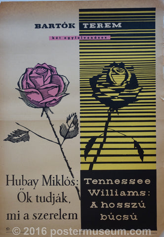 Tennessee Williams, Hubay Miklós