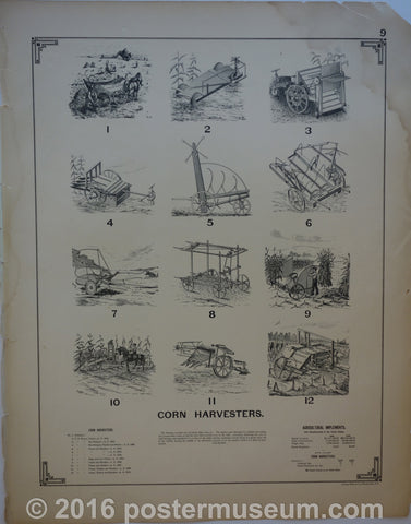 Corn Harvesters/ Cotton Harvesters