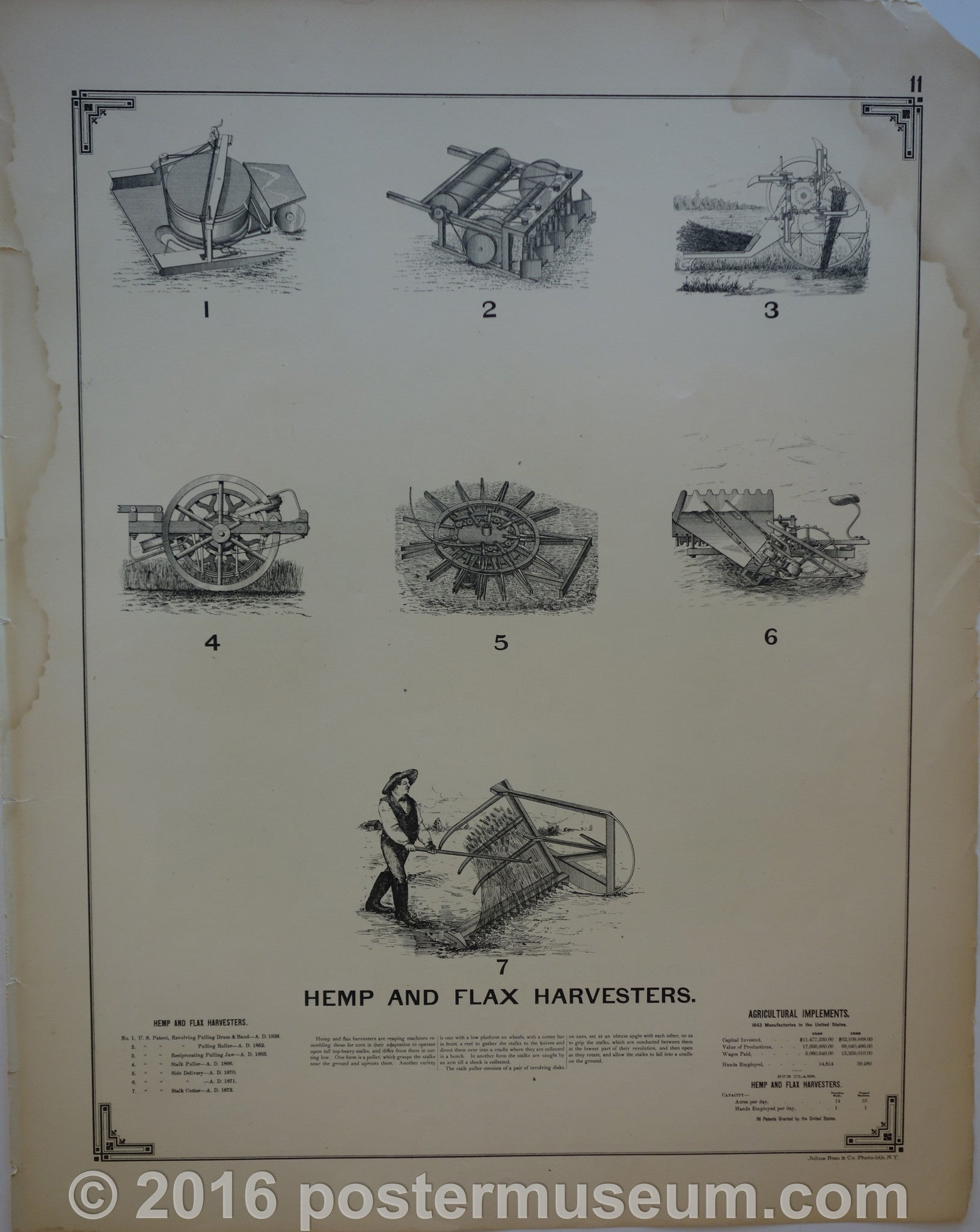 Hemp and Flax Harvesters
