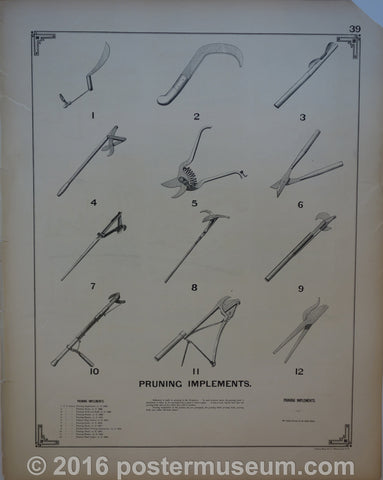 Pruning Implements & Hedge Training