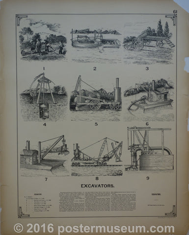 Excavators and Hydraulic Engineering