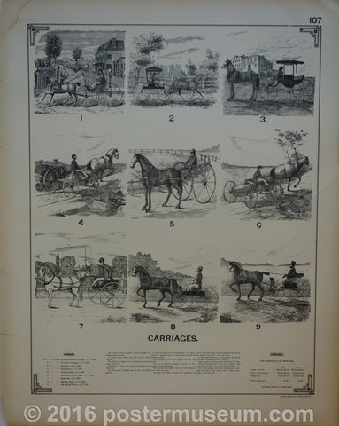 Carriages and coaches