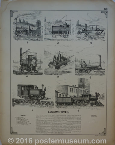Locomotives and railway cars