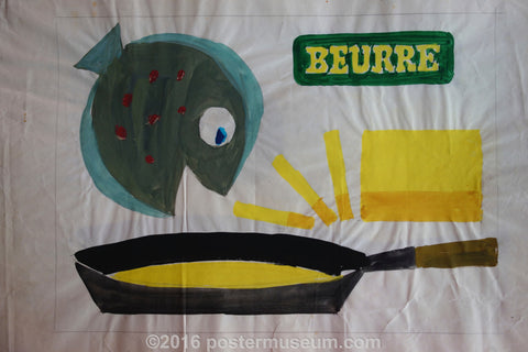 Beurre (Fish With Pan)