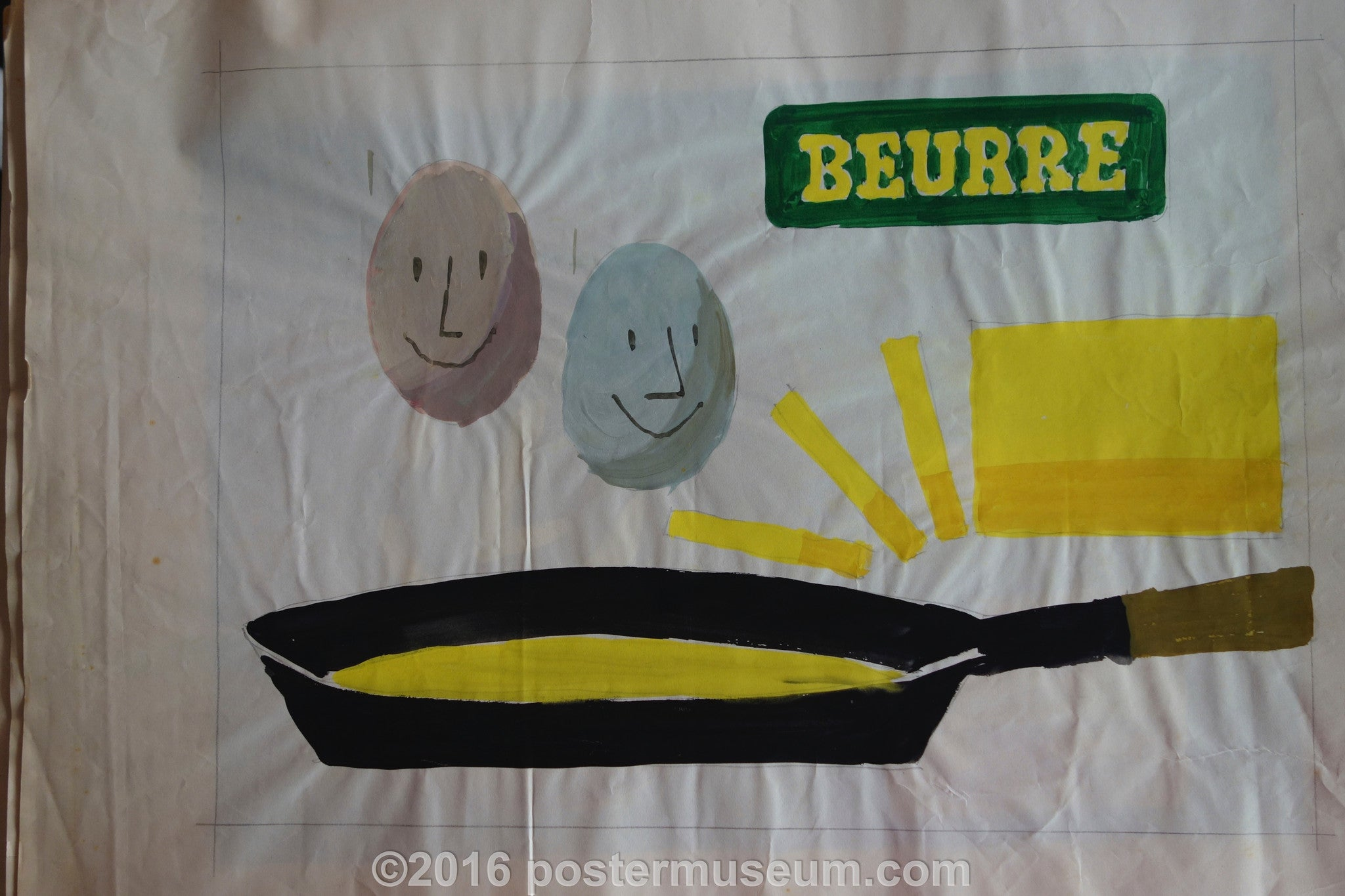 Beurre (Eggs in Pan)