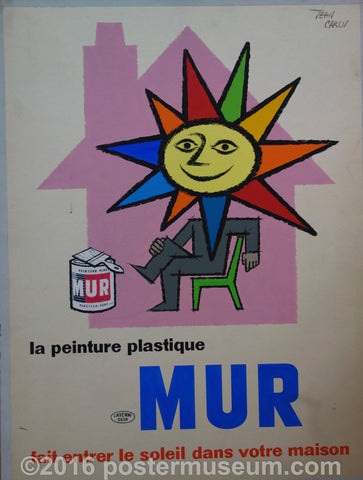 Mur Advertisement (Signed by Artist)