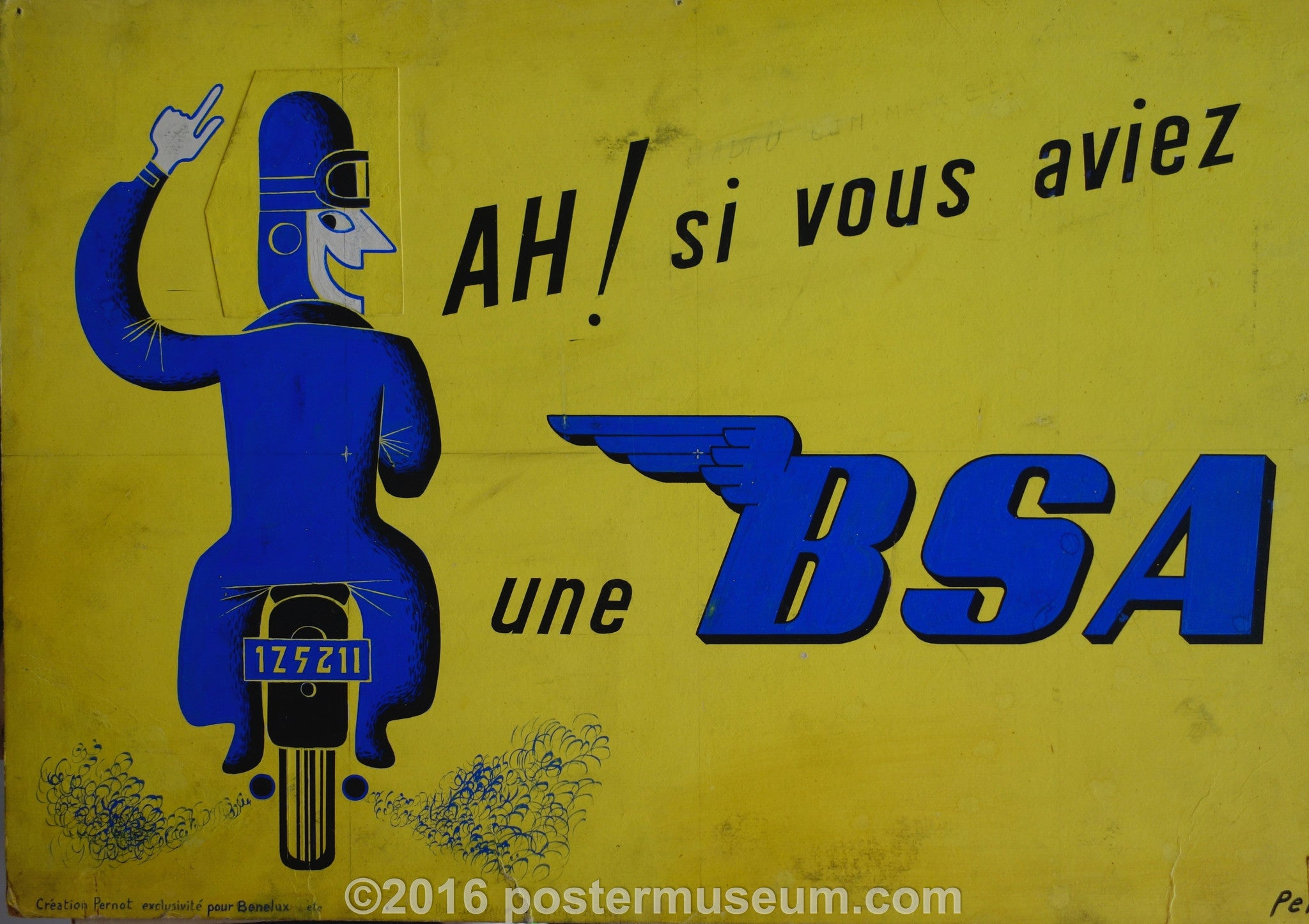 Une BSA (SIGNED)