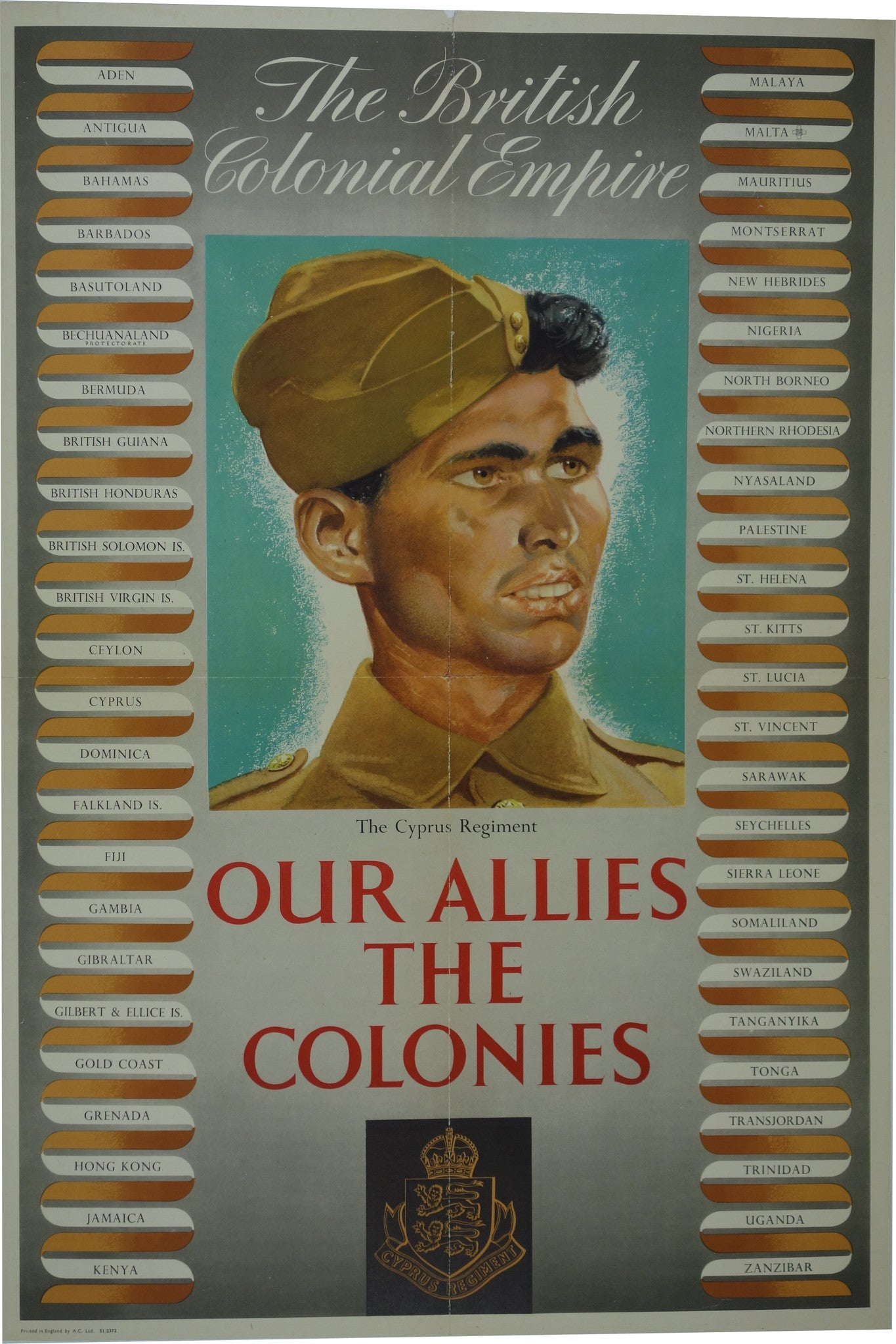 Our Allies The Colonies The Cyprus Regiment