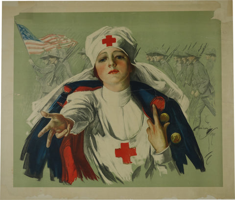 Red Cross Woman