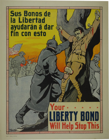 Your Liberty Bond will Help Stop This