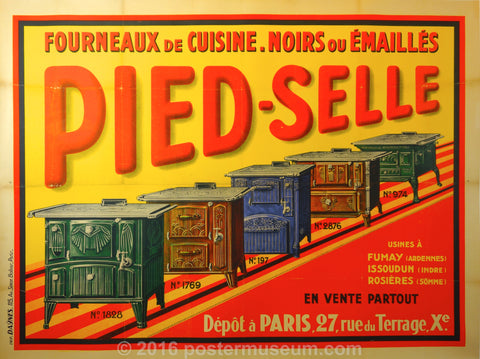 Pied Selle