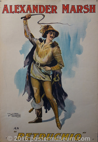 "Alexander Marsh as ""Petruchio"""