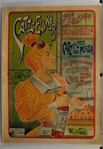 Catz-Elixer, Exposition International, Brussels - Poster Museum