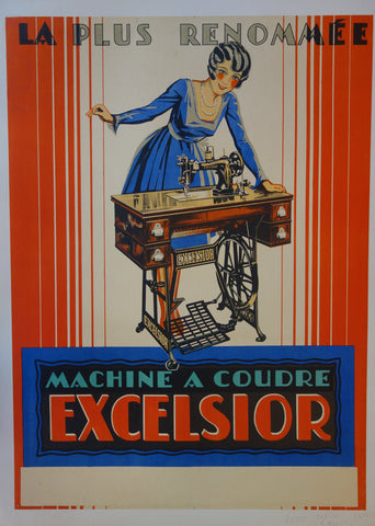 Machine A Coudre Excelsior