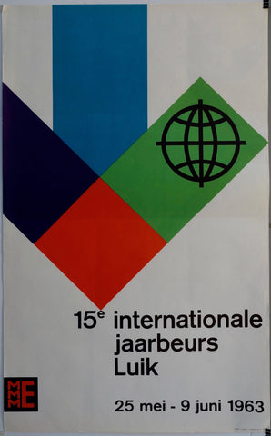 15e Internationale Jaarbeurs Luik - Poster Museum
