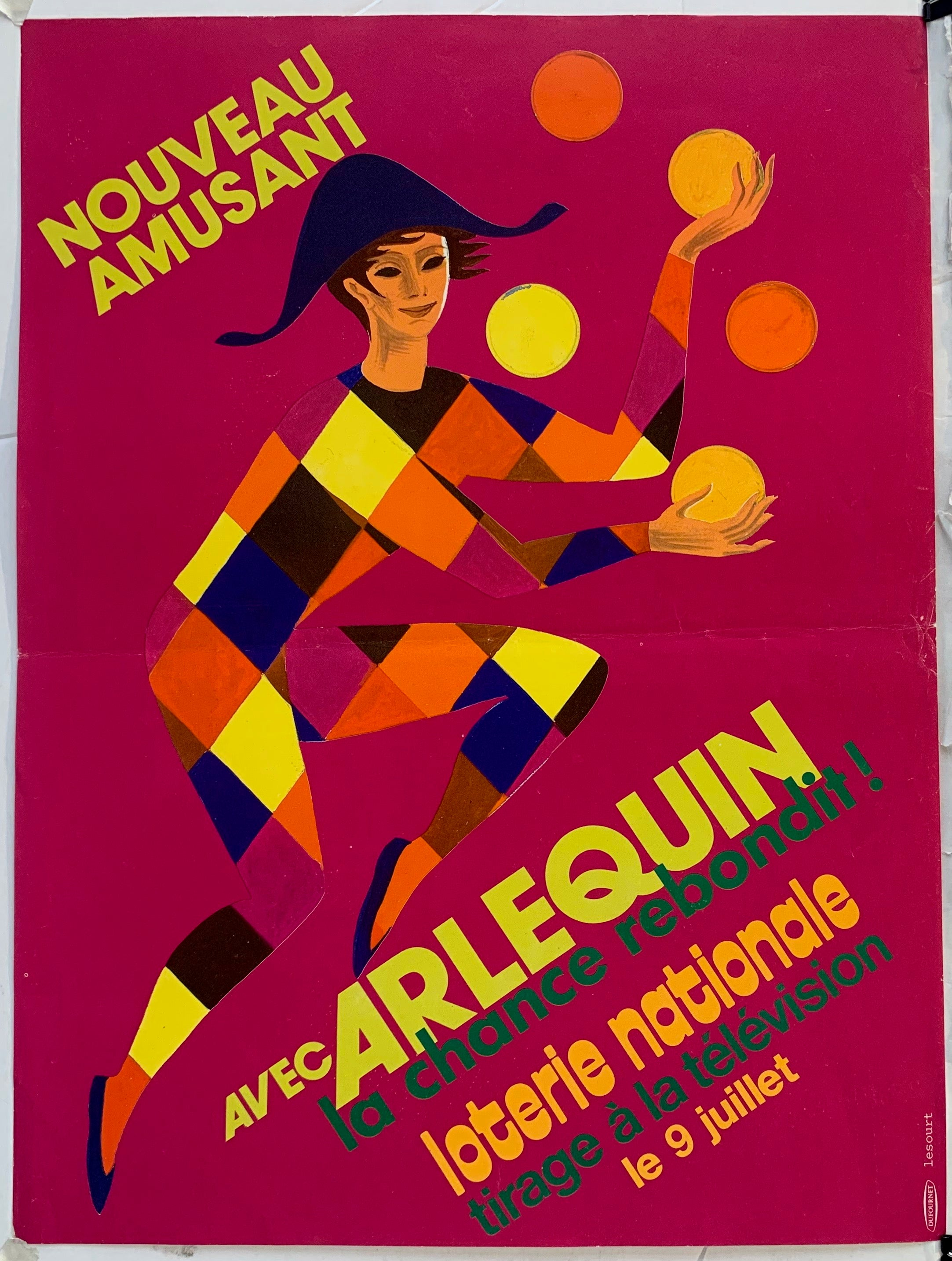 Arlequin Loterie Nationale - Juggling in Pink