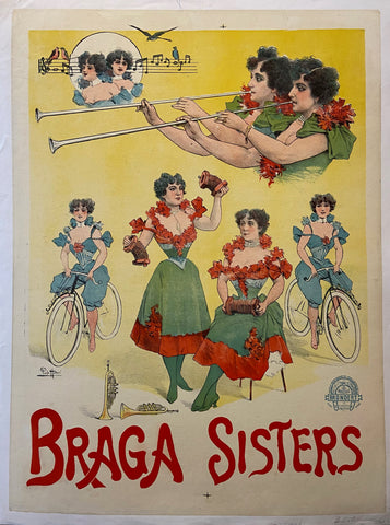 Poster of the Braga sisters