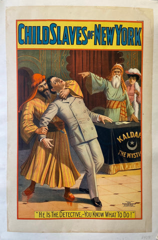 Child Slaves of New York Poster
